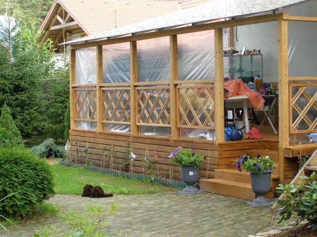 террасы и веранды пристроенные к дому фото 7