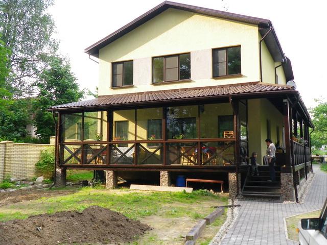 террасы и веранды пристроенные к дому фото 9