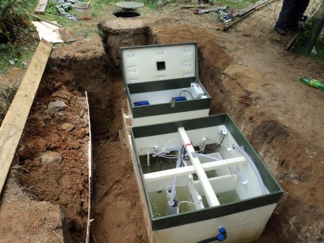 автономная канализация в частном доме как выбрать 4