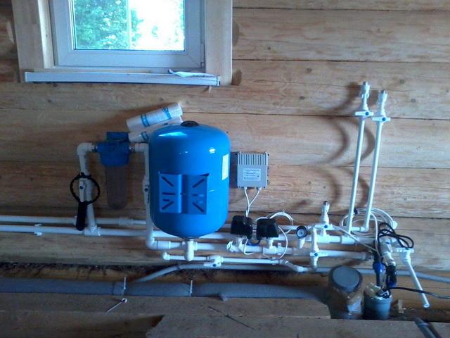 Водоснабжение частного дома из скважины – схема и фото 1