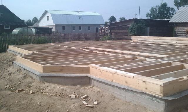 Фундамент для каркасного дома своими руками – по шагам 1