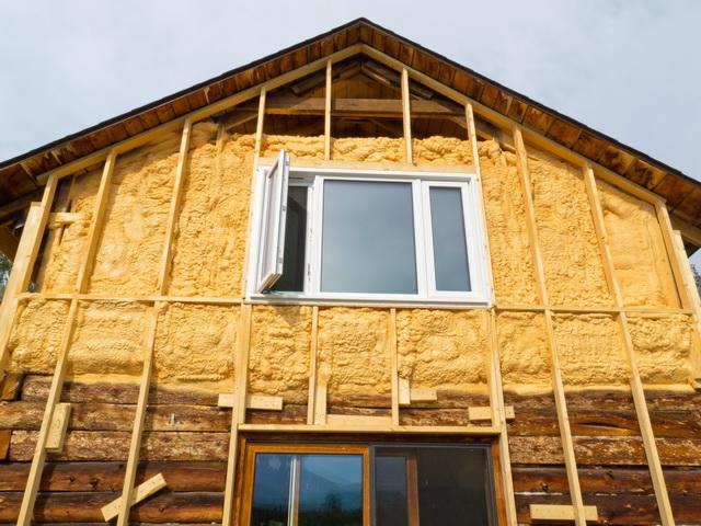 Как правильно утеплить снаружи деревянный дом под сайдинг 2