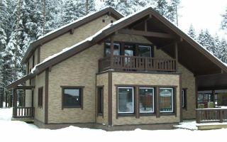 Фасадные панели для наружной отделки дома – фото вариантов