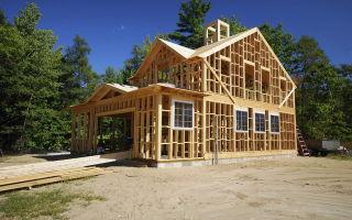 Что такое каркасный дом и из чего его строят