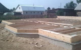 Фундамент для каркасного дома своими руками – по шагам