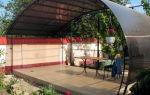 Дачная веранда из поликарбоната – цена и варианты
