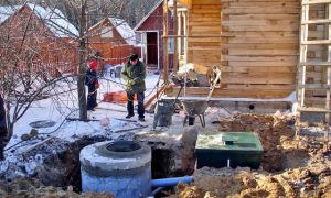 Утепление канализации в частном доме