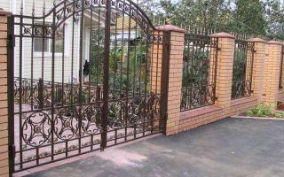 Кованые ворота и калитки – я и сварка