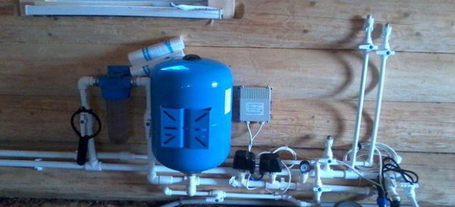 Водоснабжение частного дома из скважины – схема и фото
