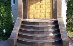 Гранитные ступени для крыльца дома — цена ступеней из гранита