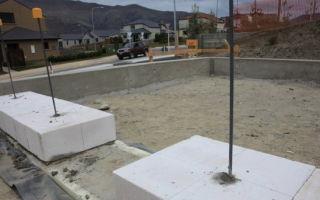 Какой фундамент лучше для дома из пеноблоков в 2 этажа на разных почвах