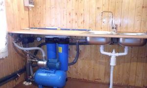 Как можно сделать водопровод из колодца — зимний вариант