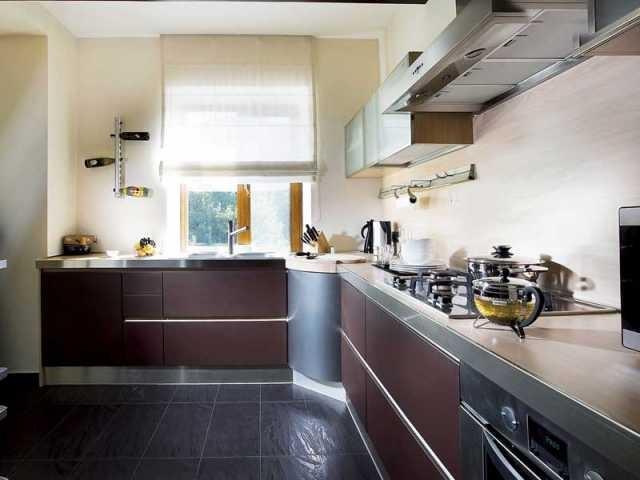 Интерьер кухни фото частный дом