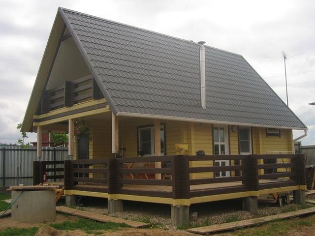 Как пристроить веранду к деревянному дому 3