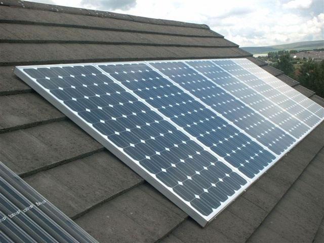Солнечные батареи на крышу дома