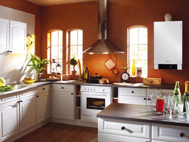 Отопление частного дома газовым котлом-A