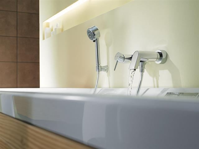 Душ или ванна в доме А