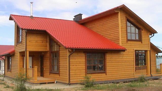 С такой обшивкой дом как был бревенчатым, так и останется бревенчатым.