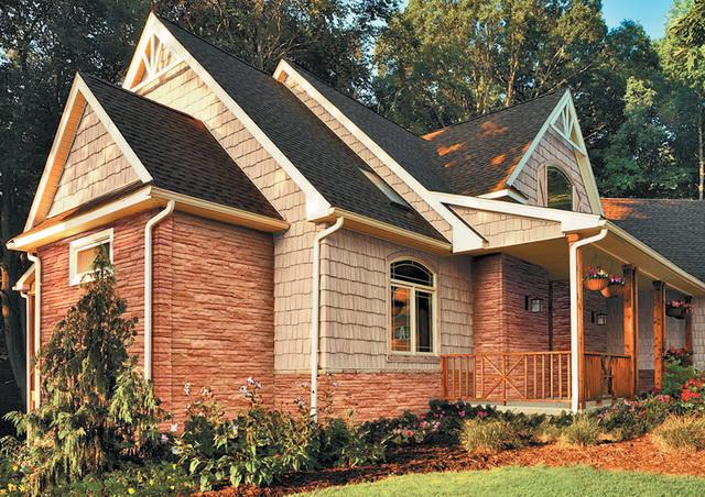 Вот такой сайдинг мне понравился - хочу им обшить мой деревянный дом снаружи.