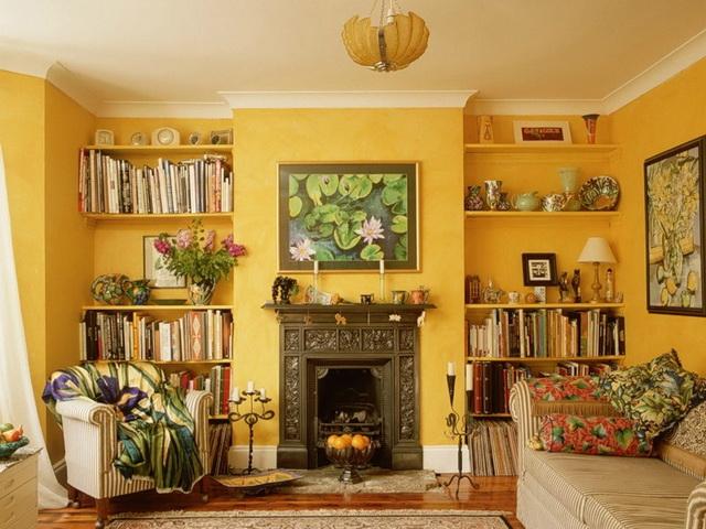 В хорошем частном доме должно быть место для отдыха и место для книг.