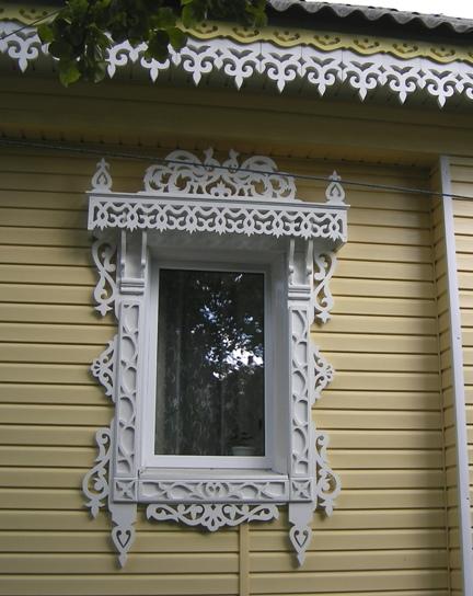 Резные наличники на окна сайдинг 3