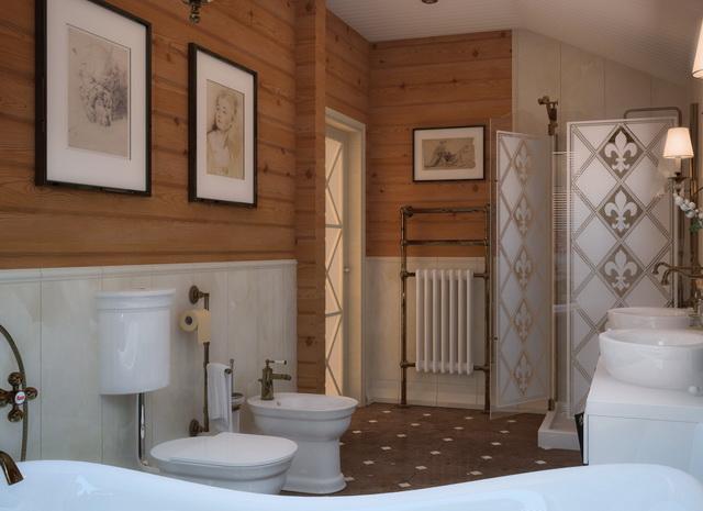 Туалет в частном доме интерьер фото