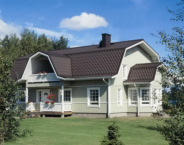 Ломаная крыша чертеж и фото А