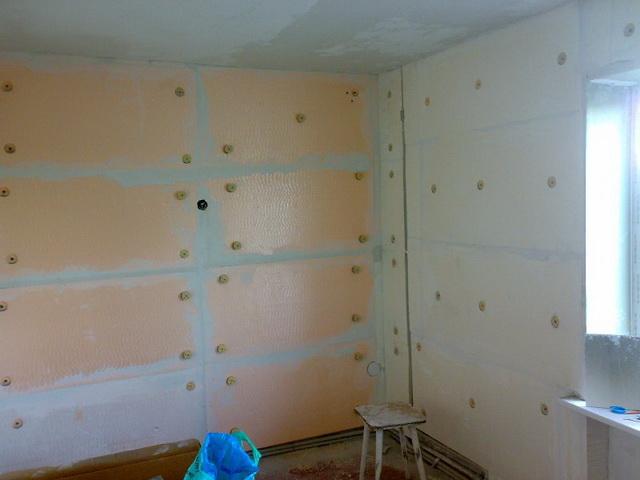 Утепление внутренних стен кирпичного дома А