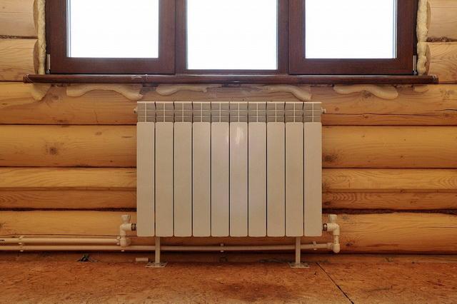 Отопление бани 1