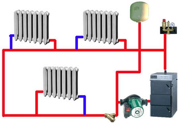 Гидравлический расчет системы отопления – примеры 3