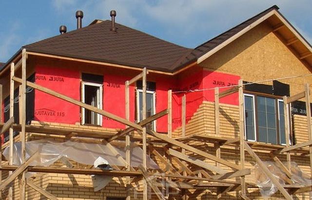 Правильная ветрозащита каркасного дома - элементы и монтаж 1