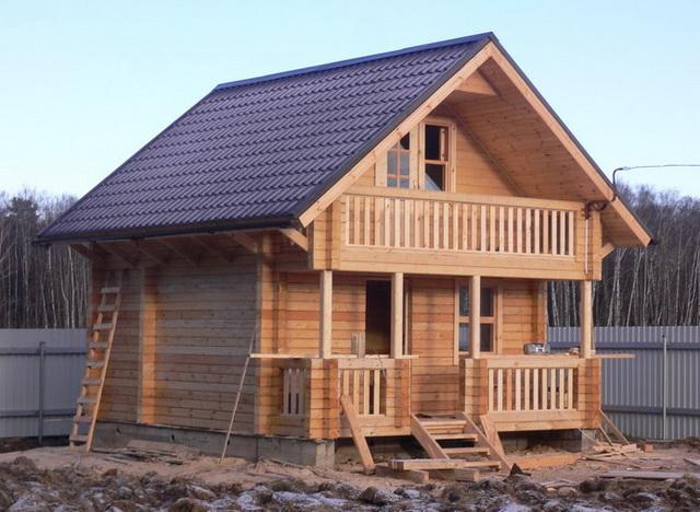 Дома из профилированного бруса - стоимость брусовых домов под ключ 2