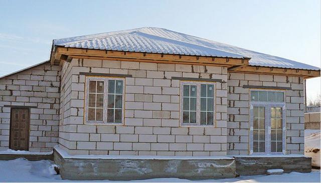 Строительство дома своими руками фотоотчет