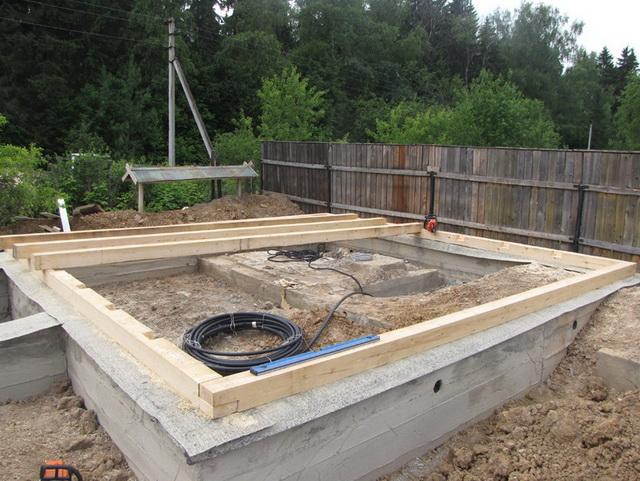 Мелкозаглубленный ленточный фундамент своими руками - марка бетона для МЗФЛ 5