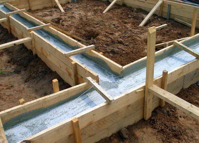 Строим ленточный фундамент - фото, ширина, глубина, арматура, утепление 2