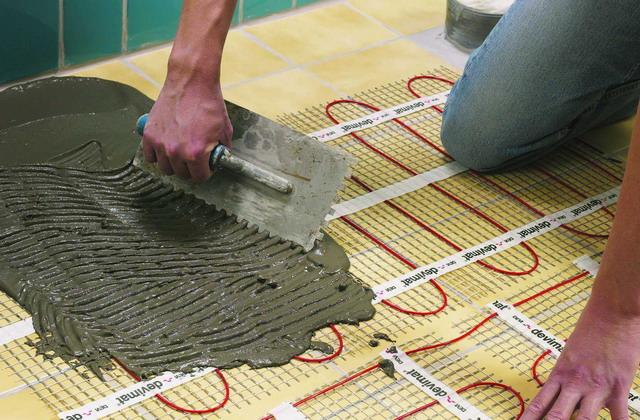 Используем теплый пол электрический в загородном доме или на даче 4