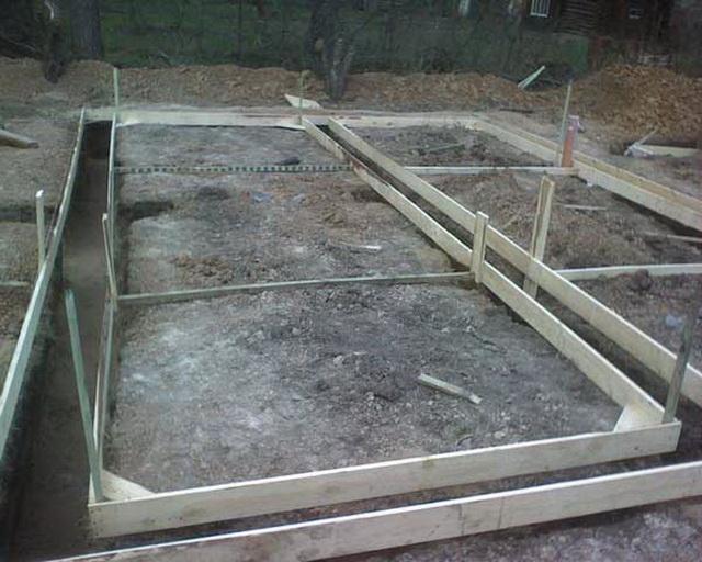 Фундамент под баню 4х6 своими руками