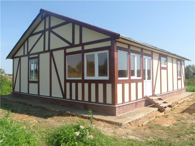 Одноэтажные каркасные дома для постоянного проживания 3