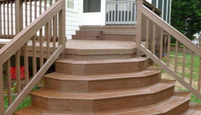 Готовые уличные ступени для крыльца - из металла, пластиковые, каменные 3