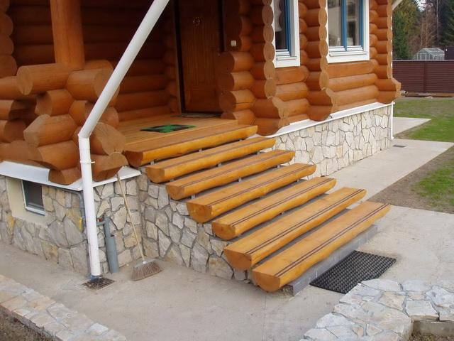 Ступеньки для лестницы, лестничные комплекты - Деревянные