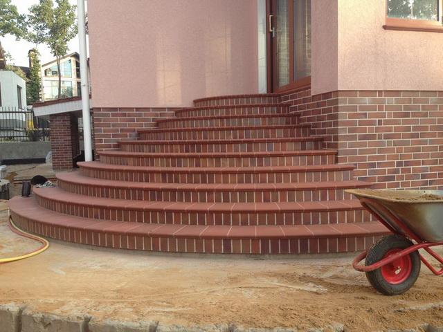 Клинкерные ступени для крыльца дома - цена, виды, фото 3