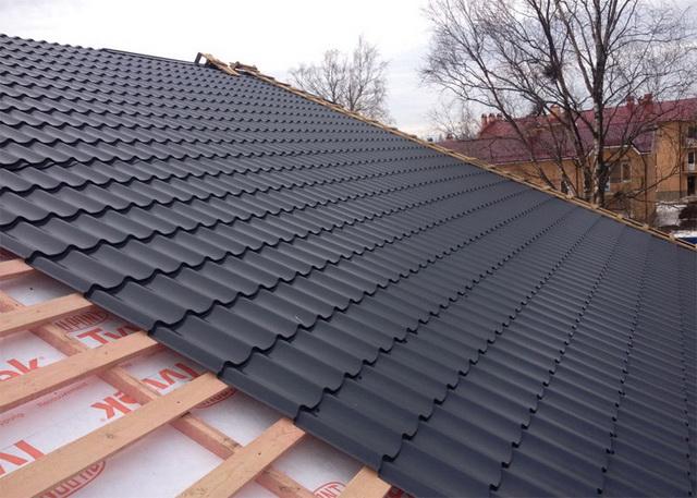 Чем лучше покрыть крышу дома, красивее и дешевле 2