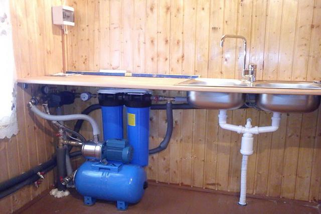 Как можно сделать водопровод из колодца - зимний вариант 1