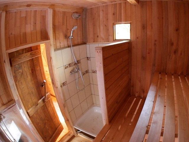 Очень маленькая баня