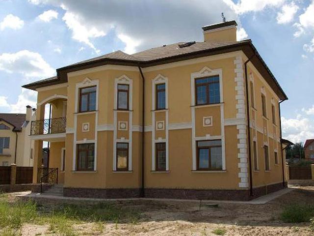 каким цветом покрасить фасад частного дома фото 14