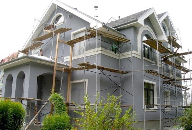 каким цветом покрасить фасад частного дома фото 15