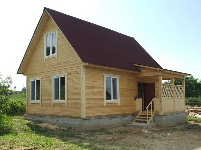 Что лучше - каркасный дом или дом из бруса 1