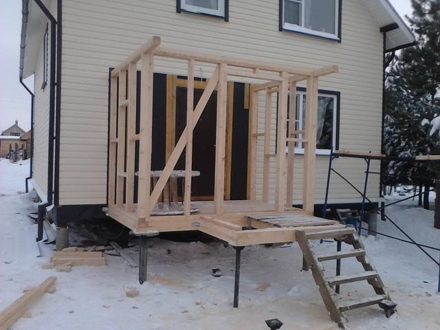 Каркасная пристройка к дому - пошаговая инструкция возведения 2