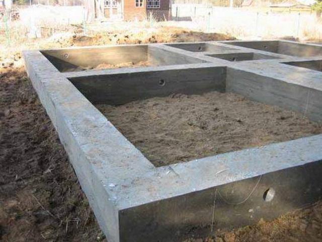 Заливка фундамента под частный дом своими руками - видео 3